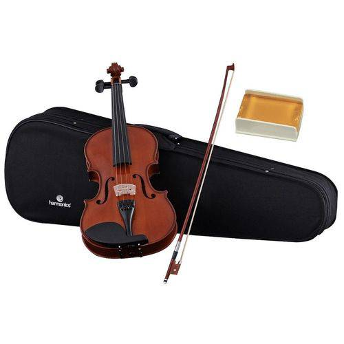 Violino 4/4 Va-10 Spruce Maple Natural + Case + Arco + Breu - Harmonics