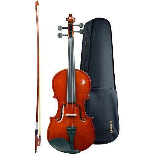 Violino Concert 4/4 Estojo Luxo Arco Crina Breu