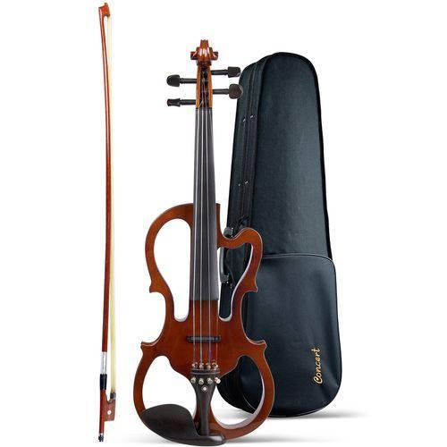 Violino Elétrico Concert Cve44n Vasado - C/estojo Luxo + Fone de Ouvido