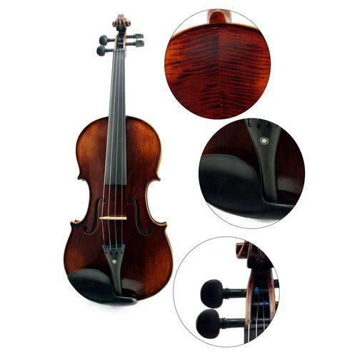 Violino Profissional Konig 4/4 Vk549 de Madeira Completo
