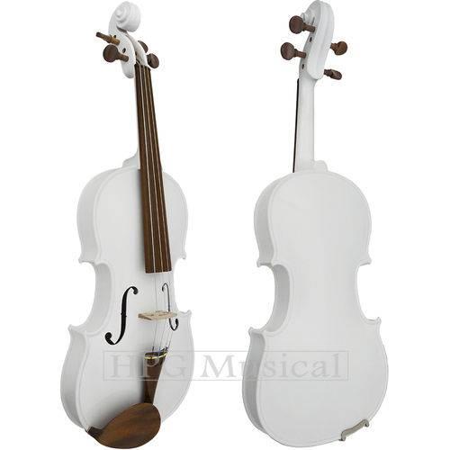 Violino Rolim Especial Branco Brilho 4/4