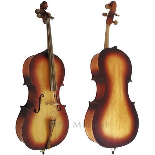 Violoncelo Rolim Milor Sombreado Fosco Cello 4/4