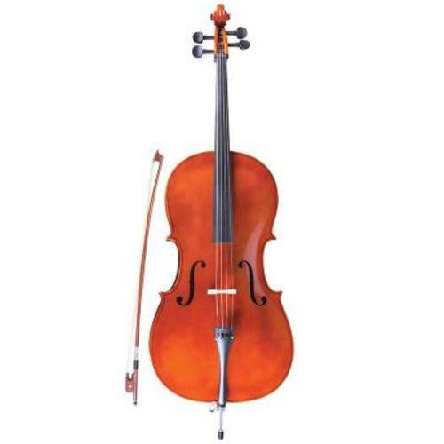 Violoncelo Strinberg Concert Cc 10966, 4/4 - Natural, com Bag