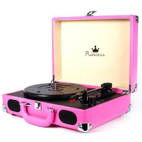 Vitrola Princess Pink