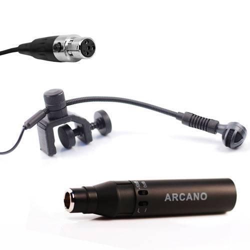 Wzs-3000 Mini Xlr 4 Pinos + Adaptador Phantom