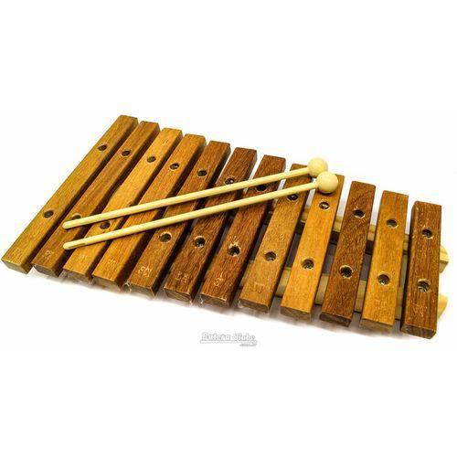 Xilofone Jog Vibratom P2111 12 Teclas Diatônico C6 a G7 (musicalização Infantil) 15125