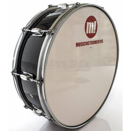 Zabumba Phx Music Instrumentos Basswood Black 520r-dp-bk 20x7¨