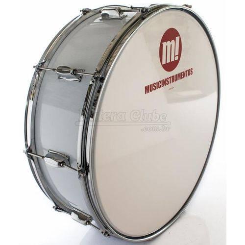 Zabumba Phx Music Instrumentos Basswood White 520r-dp-br 20x7¨