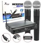Conjunto de Microfone Knup Novo 30M para Teatros Palestras Educativas