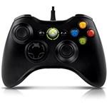 Controle Xbox 360 com Fio Black