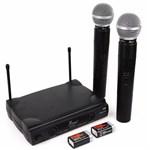 Kit 2 Microfones Sem Fio Kp-912 Profissional Knup