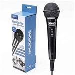 Microfone com Fio para Karaokê, Palestras, Gravações Knup Kp-m0011