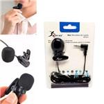 Microfone de Lapela para Computador Smartphone para Gravação P2 Kp-911