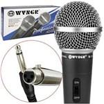 Ficha técnica e caractérísticas do produto Microfone Profissional Dinamico com Cabo WVNGR M-58 M-58