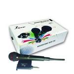 Ficha técnica e caractérísticas do produto Microfone Sem Fio Profissional Kp-M0005 - Knup