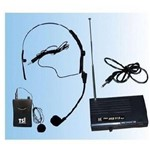 Microfone Sem Fio Tsi Ms115 Cli Tsi: Cabeça Lapela ou Instrumentos