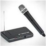 Ficha técnica e caractérísticas do produto Microfone Sem Fio TSI MS115 UHF - de Mao