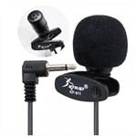Ficha técnica e caractérísticas do produto Mini Microfone de Lapela KP 911 - Knup
