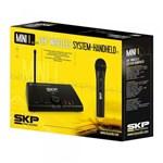 Ficha técnica e caractérísticas do produto Skp Microfone Mini-I Base + 1 Microfone Mao Uhf S/ Fio
